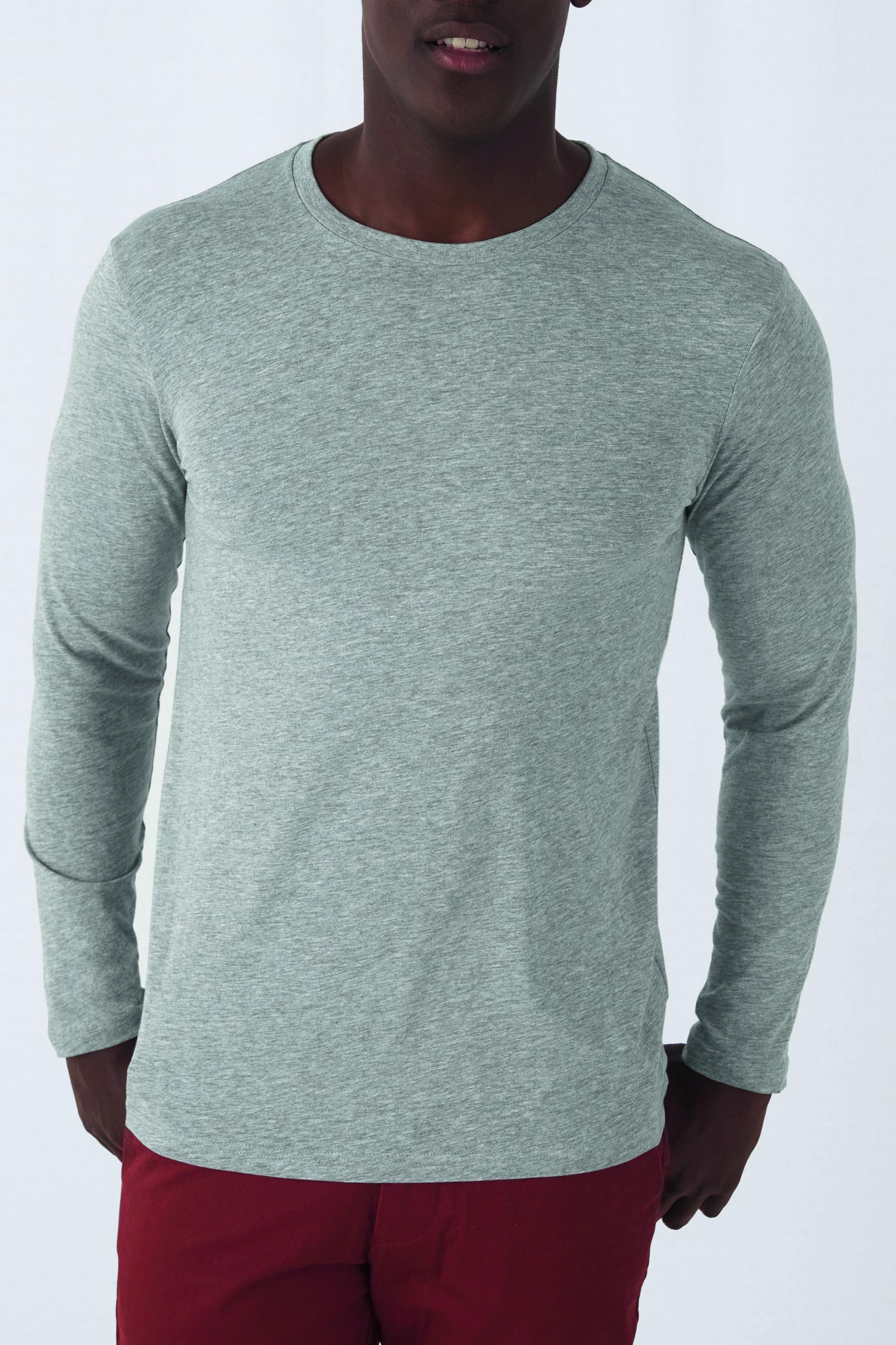 Økologisk, Fair Wear Og Oekotex T-shirt Med Lange ærmer Til Mænd I En 140g/m2 Kvalitet [ BCTM070]