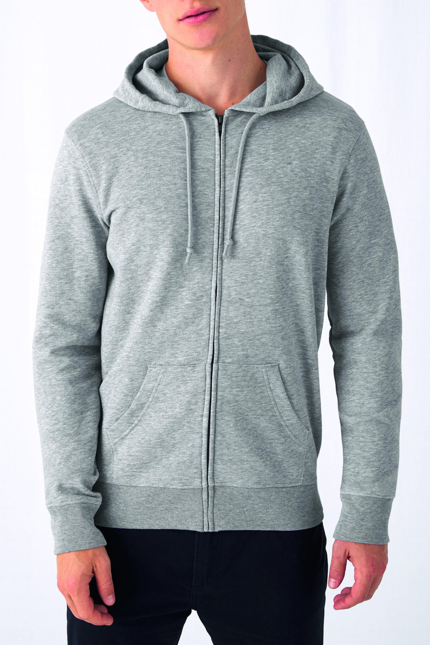 Økologisk Herre Hoodie Sweatshirt I En 280g/m2 Kvalitet [ BCWU35B]