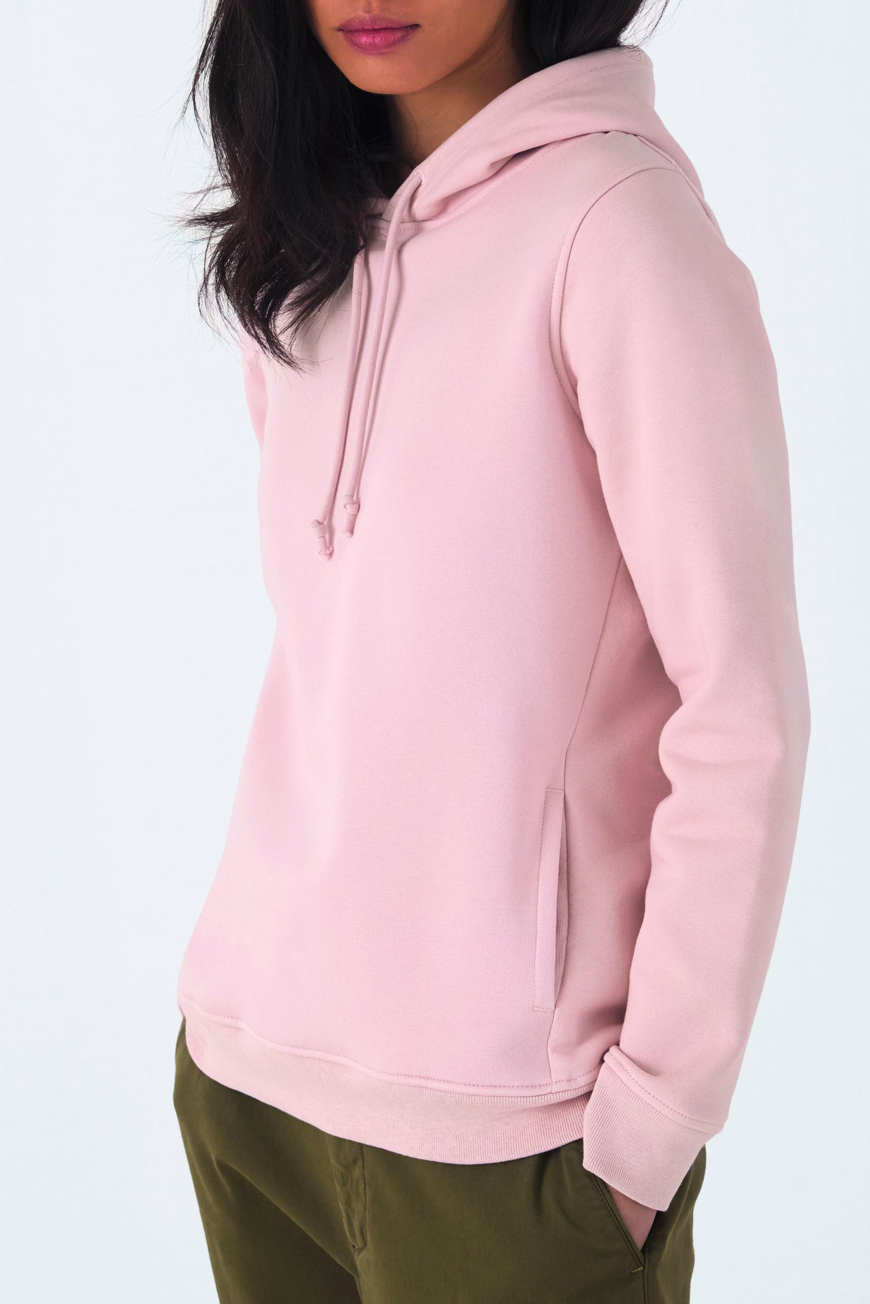 Økologisk Kvinde Hoodie Sweatshirt I En 280g/m2 Kvalitet [BCWW34B]