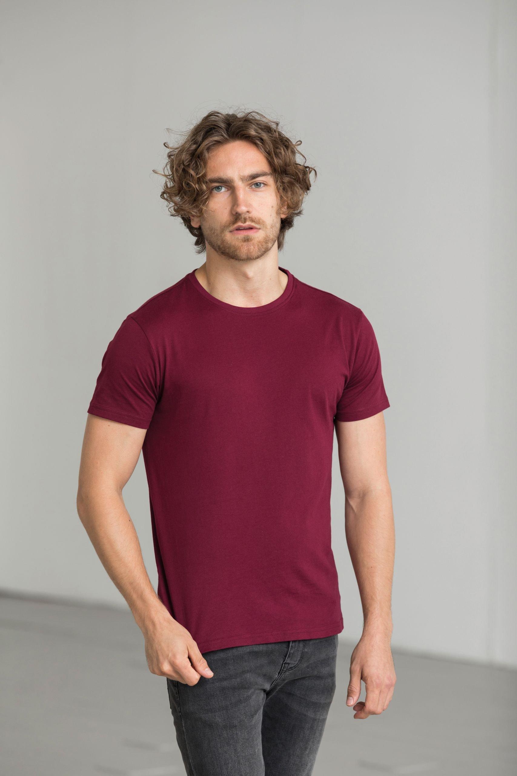 Økologisk Herre T-shirt I En 150g/m2 Kvalitet [EA001]