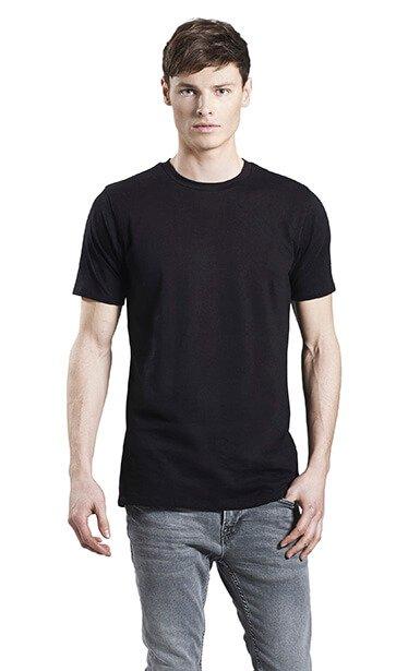 Herre økologisk Lang T-shirt I En 160g/m2 Kvalitet [EP05]