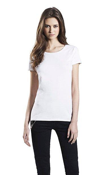 Kvinde økologisk Lang T-shirt I En 160g/m2 Kvalitet [EP06]