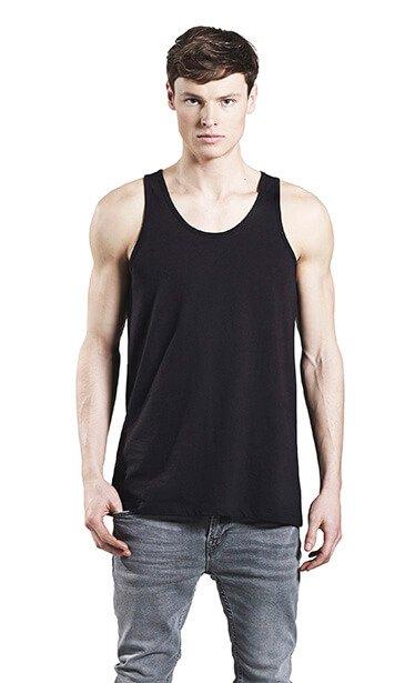 Herre økologisk Strop T-shirt I En 130g/m2 Kvalitet [EP08]