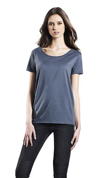 Kvinde Figursyet økologisk T-shirt I En 130g/m2 Kvalitet [EP09]