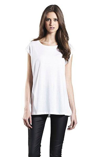 Kvinde økologisk/tencel T-shirt I En 140g/m2 Kvalitet [EP43]