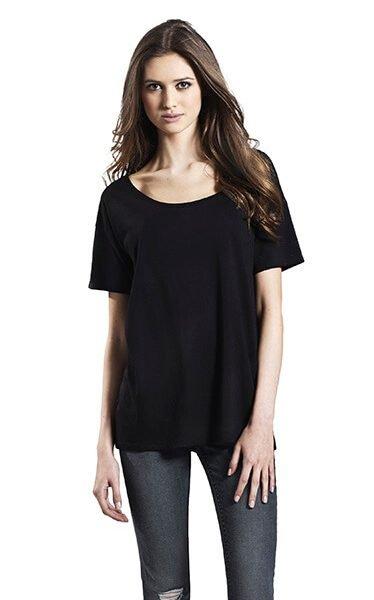 Kvinde økologisk/tencel T-shirt I En 140g/m2 Kvalitet [EP46]