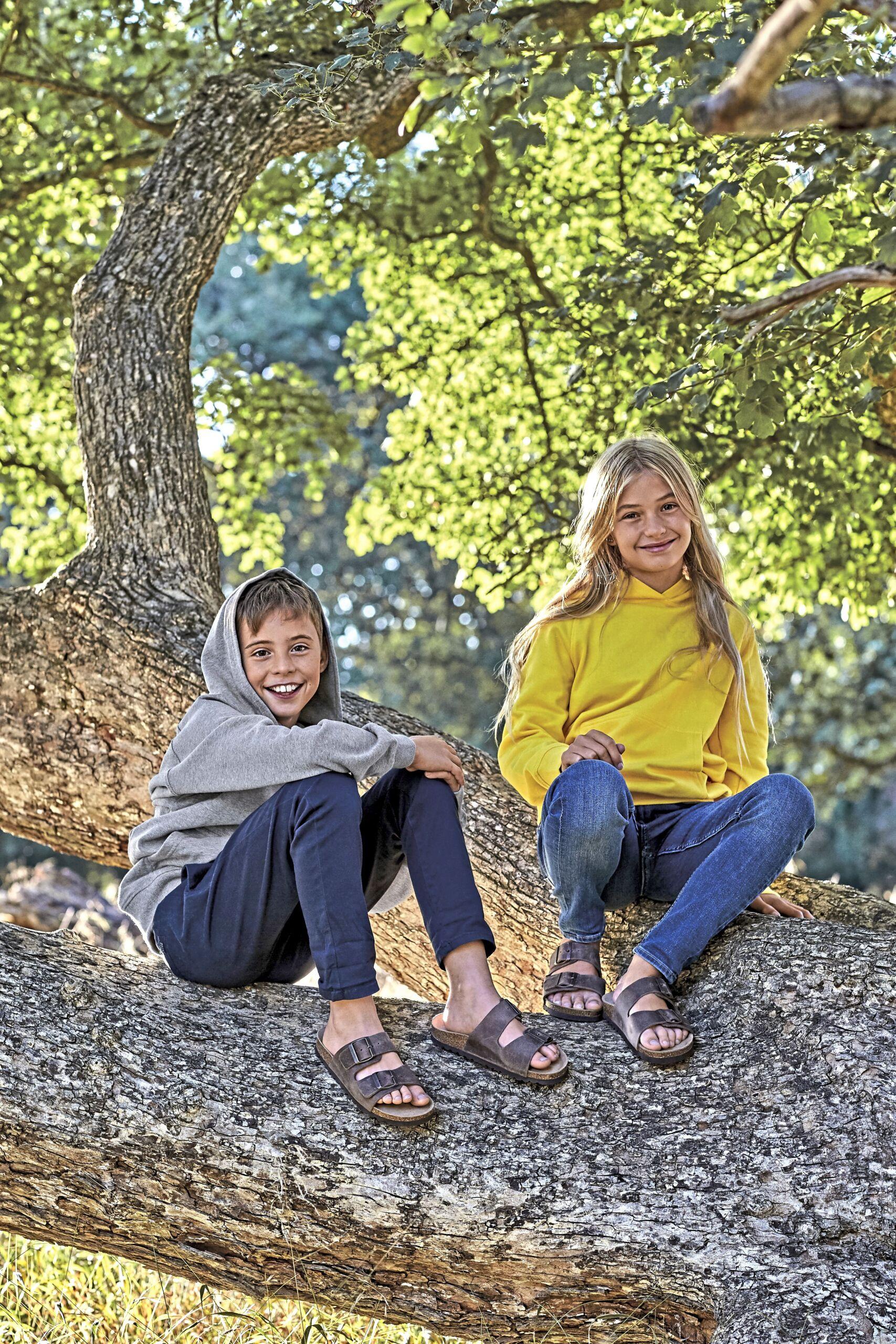 Økologisk, Fairtrade Og Co2 Neutral  Hættesweatshirt Til Børn I En 300g/m2 Kvalitet [NE13101]