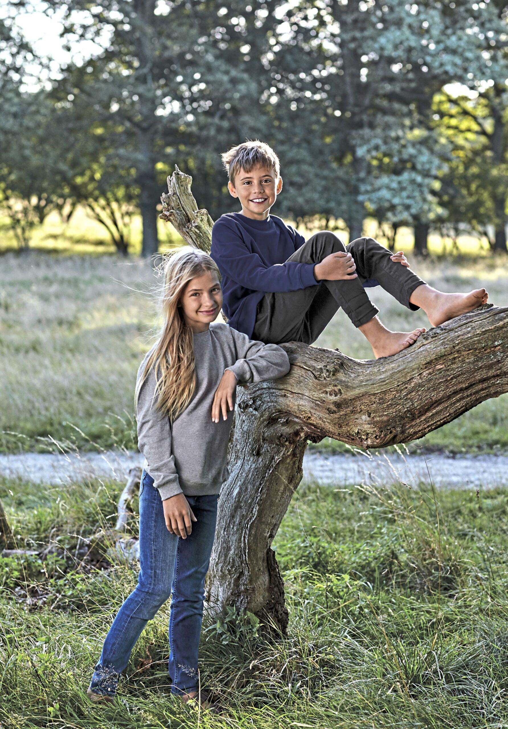 Økologisk, Fairtrade Og Co2 Neutral  Sweatshirt Til Børn I En 300g/m2 Kvalitet [NE33001]