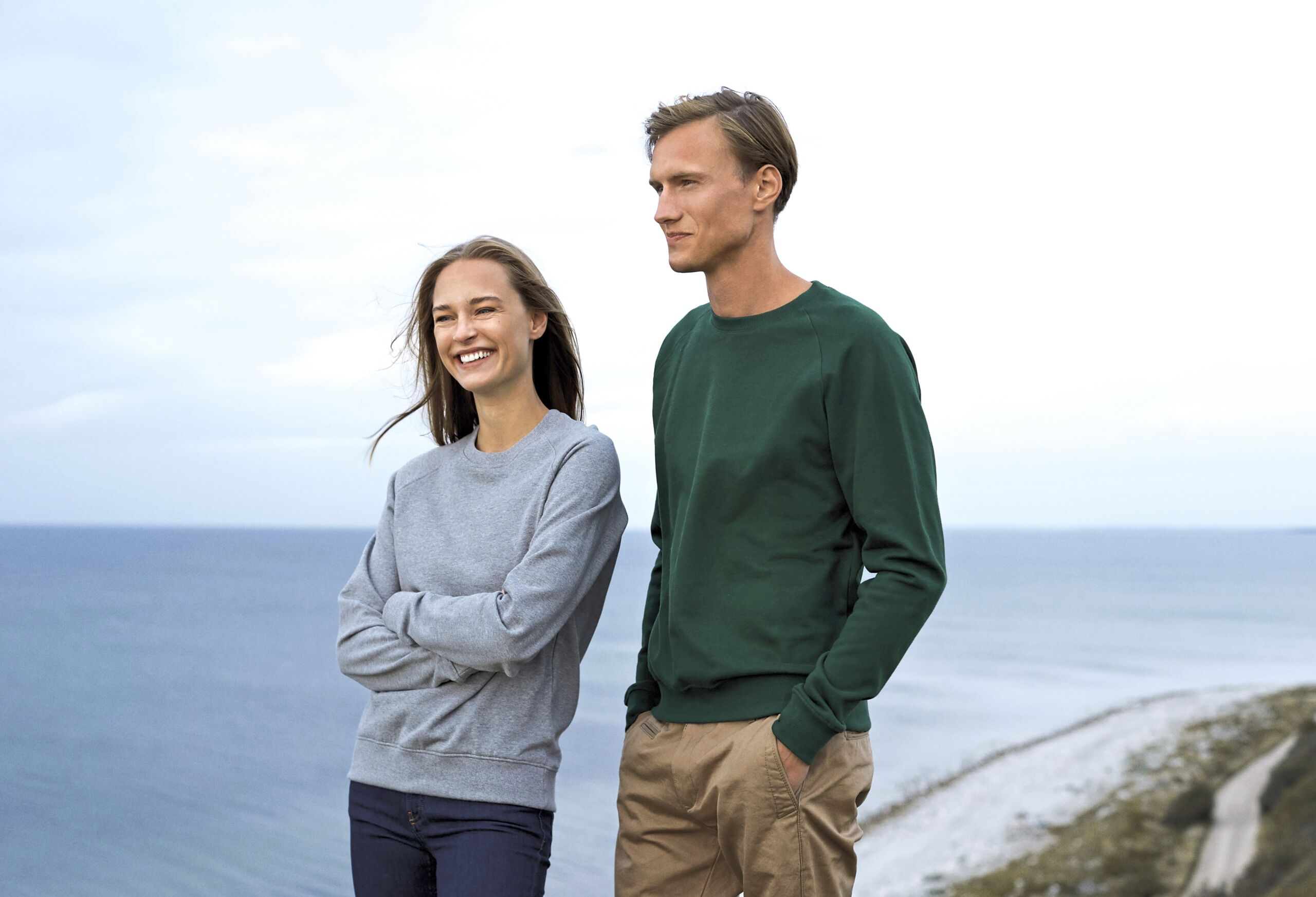 Økologisk, Fairtrade Og Co2 Neutral Sweatshirt – Unisex I En 300g/m2 Kvalitet [NE63001]