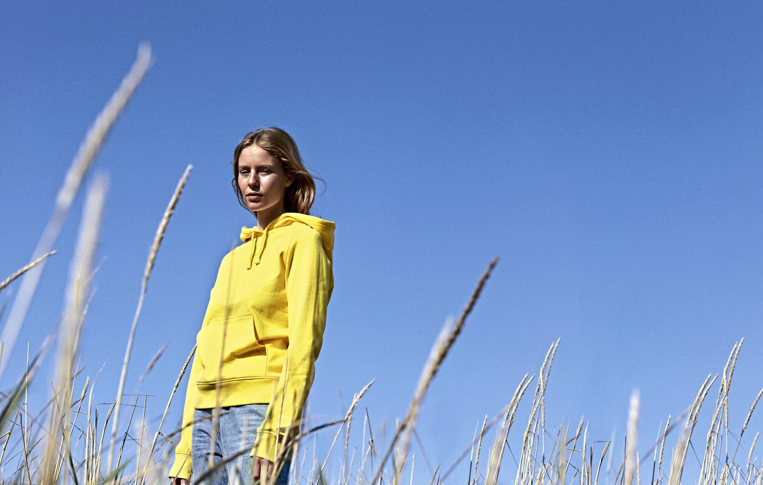 Økologisk, Fairtrade Og Co2 Neutral Hættesweatshirt Til Kvinder I En 300g/m2 Kvalitet [NE83101]