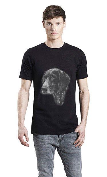 Hunde Motiver Trykt På økologisk T-shirt