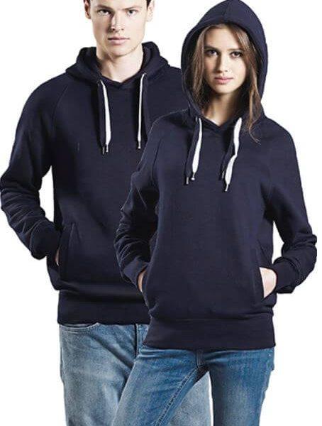 Unisex økologisk Hættesweatshirt I En 280g/m2 Kvalitet [EP60P]