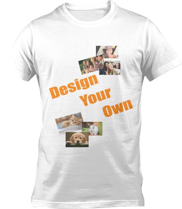 Tshirt med tryk og eget design